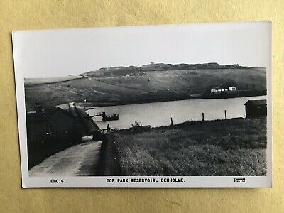 Denholme - West Yorkshire - Doe Park Reservoir - A Vintage Frith's RP Postcard • 2.25£
