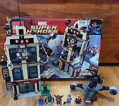 LEGO Marvel Super Heroes Spider-Man: Daily Bugle Showdown (76005) 100% COMPLETE • 25£
