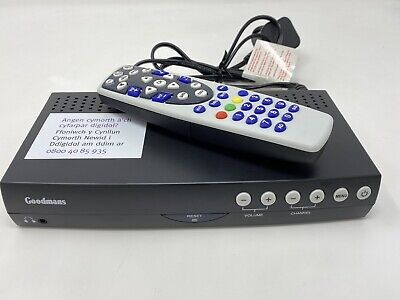 Goodmans GDR11 Digital Freeview TV Receiver And Remote  • 1.99£