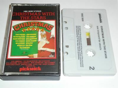 Christmas With The Stars - Glen Campbell Nolan Sisters Cassette Tape • 2.99£