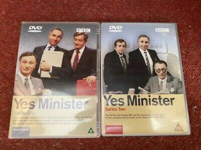 Yes Minister - Series 1 & 2 (DVD) • 0.99£
