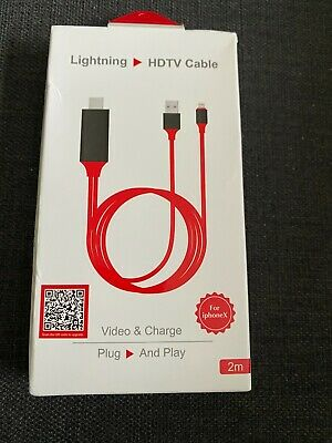 HDTV Digital TV AV Adapter Cable For Apple IPad IPhone  • 5£
