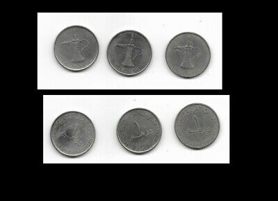 3 Middle East Coins United Arab Emirates • 0.99£