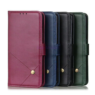 AU10.54 • Buy For ZTE Blade A3 A5 A7 2020 BLADE V2020 PU Leather Wallet Kickstand Case Cover