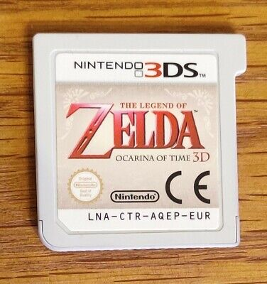 Nintendo 2DS 3DS The Legend Of Zelda Ocarina Of Time Cartridge Only • 2.20£