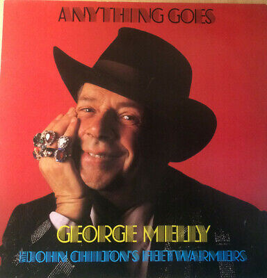 George Melly With John Chilton's Feetwarmers – Anything Goes LP Signed To Peter • 4.99£