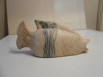 Studio Pottery Ceramic Fish • 12£