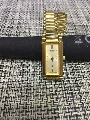 Vintage Citizen Watch 6 Jewel Gold Plated In Good Working Condition As Photo • 19.91£