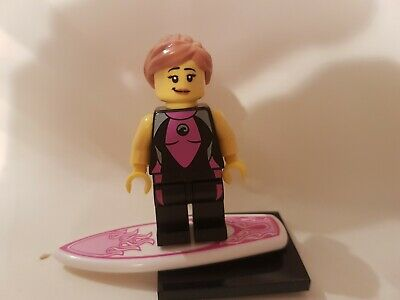 Genuine Lego Minifigures Series 4 Surfer Minifig • 1.99£