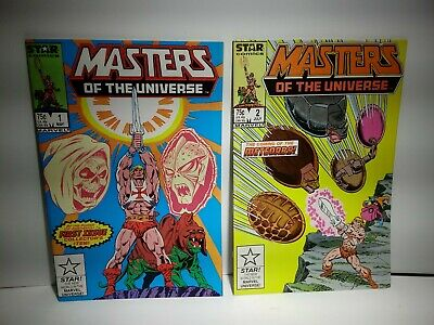 $39.99 • Buy Masters Of The Universe #1 & 2 NM / HIGH GRADE HE-MAN 1986 MARVEL STAR SERIES