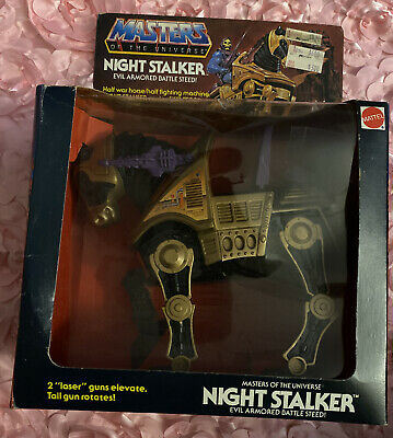 $114 • Buy Motu 1984 Night Stalker Evil Armored Battle Steed Masters Of The Universe In Box