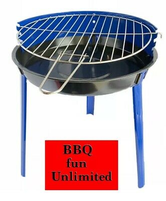 Grill Chef Patio Barbecue BBQ Grill Small Portable Adjustable Height Lidl • 16.95£