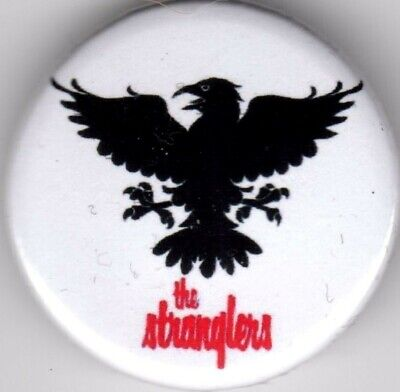 THE STRANGLERS Pin(Button) Badge 25mm - PUNK ROCK - GOLDEN BROWN PEACHES RATTUS • 1.15£