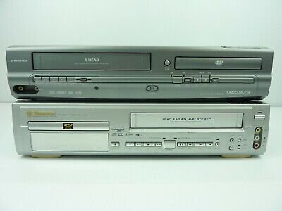 $ CDN72.27 • Buy Lot Of 2 DVD/VHS Combo Player For Parts Only Magnavox MWD2205 & Emerson EWD2202