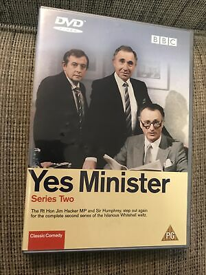 Yes Minister - Series Two (DVD) (2002) Paul Eddington • 1.78£