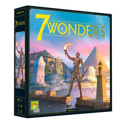 AU76.99 • Buy 7 Wonders New Edition Board Game - Repos Production Free Shipping!
