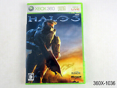 AU20.62 • Buy Halo 3 Xbox 360 JAPANESE Import NTSC-J Japan JP Region Locked US Seller