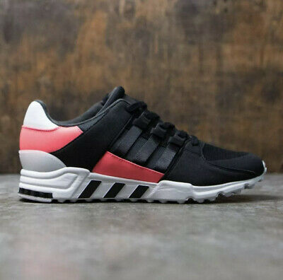 ADIDAS EQT SUPPORT RF Men's Trainers Shoes Black/White/Pink Size UK 9.5 • 14.99£