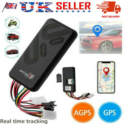 UK Mini Car GPS GPRS Tracker Vehicle Spy GSM Real Time Tracking Locator Device  • 21.99£