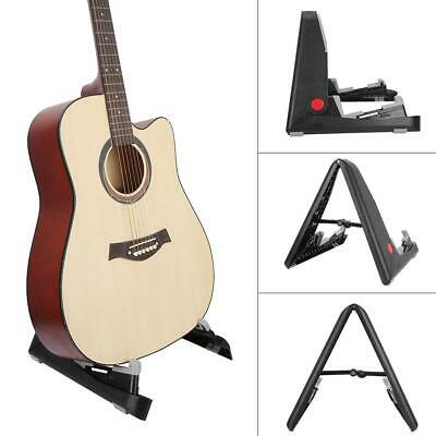 $ CDN24.70 • Buy Guitar Stand Portable Folding Acoustic Guitar Bass Stand Adjustable A-Frame