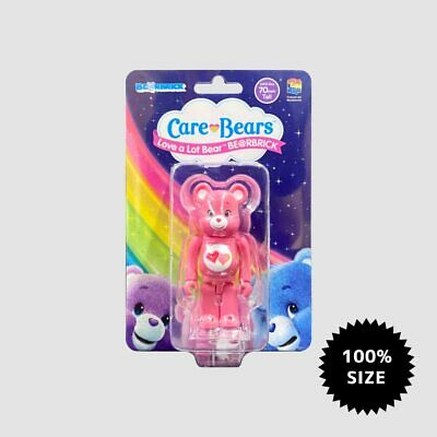 $39 • Buy  Care Bears Love A Lot 100% MEDICOM TOY Bearbrick  BE@RBRICK New In Package