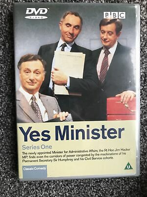 Yes Minister - Series 1 (DVD, 2001). Paul Eddington. Nigel Hawthorne VGC • 1.92£