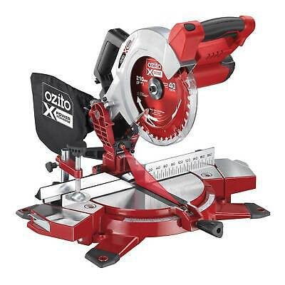 £119.95 • Buy Ozito PXCMSS 18v Cordless Compound Mitre Saw 210mm No Batteries
