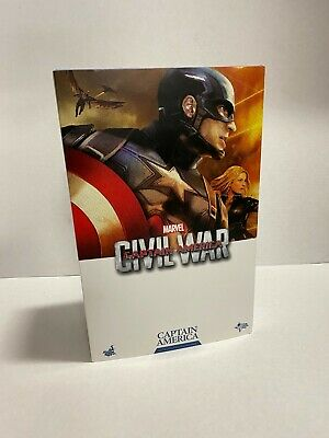 $ CDN406.77 • Buy Hot Toys Captain America Civil War 1/6 Scale MMS 350 MMS350 Marvel *USED*