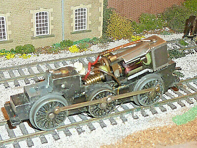 Locomotive Chassis Spares Repair Non Runner R52 Jinty 0-6-0 Triang Hornby 00 Oo. • 4.95£