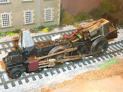 Locomotive Chassis Spares Repair Non Runner R52 Princess Triang Hornby 00 Oo . • 4.95£
