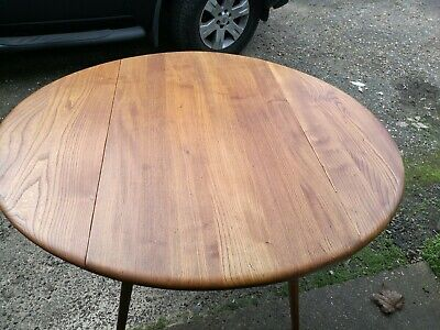 Ercol Drop Leaf Dining Table • 260£