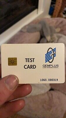 GPT Test Phonecard Very Very Rare And Collectable Fully Functional Card • 70£