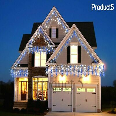 Icicle Snowing Effect Lights Christmas Xmas LED 960/720/480/1200/ Outdoor/Indoor • 49.99£