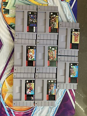 $ CDN399.99 • Buy Super Nintendo Games Lot Snes Game Lot !Working !Great Start To A Collection!