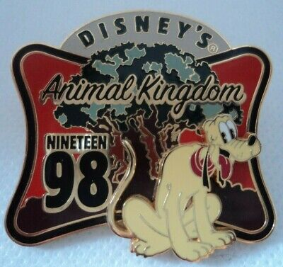 WDW Pluto Animal Kingdom Park Opening Retro 3D Pin 2007 • 5.95£