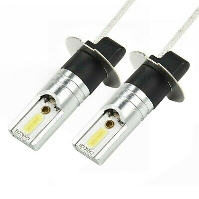 AU15.22 • Buy 1 Pair H3 LED Xenon White Headlight Conversion 6500K Fog Light Driving Lamp Bulb