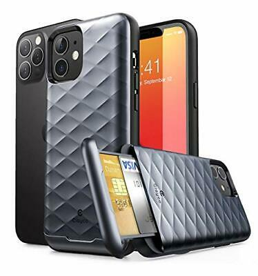 AU37.27 • Buy Clayco Argos Series Wallet Case For IPhone 12/12 Pro 6.1  2020 Card Holder Black