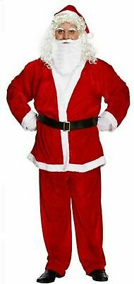 £16.90 • Buy Mens Santa Claus Costume Festive Father Christmas Xmas Fancy Outfit Adult Dress