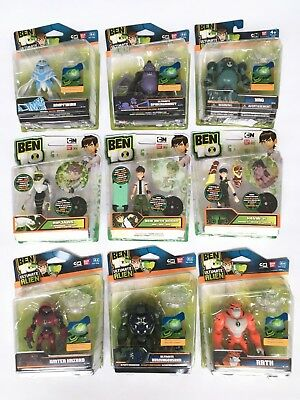 Ben 10 Action Figures - Ultimate Alien - Alien Collection - Official Bandai Toys • 19.99£