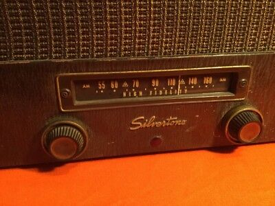 $ CDN144.36 • Buy 1950's Silvertone Record Player Tube Amp(made In Usa) Radio