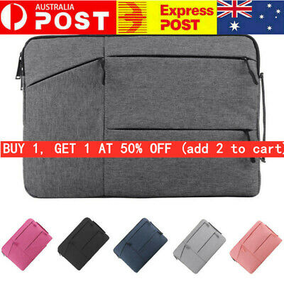 AU21.89 • Buy AU Laptop Sleeve Case Bag For MacBook HP Dell Lenovo 11 13 14 15 Inch Soft Cover
