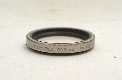 $ CDN39.69 • Buy @ Ship In 24 Hours! @ Excellent! @ Contax 30.5mm 1A MC Filter For TVS & TVS II