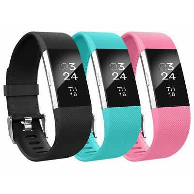 $ CDN4.76 • Buy For Fitbit Charge 2 Strap Replacement Wristband Metal Buckle Small Large