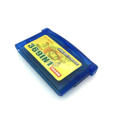 AU29.97 • Buy 369 In 1 Multicart Games GBA Gameboy Advance SP Cart AUS SELLER FAST POST