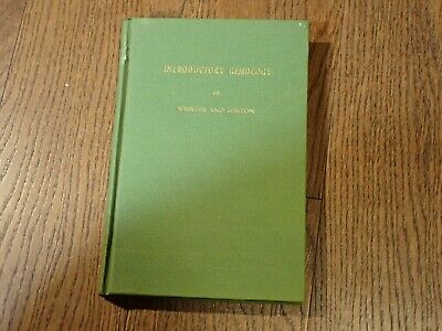 £16 • Buy Book INTRODUCTORY GEMOLOGY By Webster And Hinton Volume 5