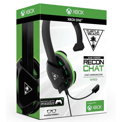 AU27.35 • Buy Turtle Beach XBox One Gaming Chat Headset Recon Wired -  BRAND NEW