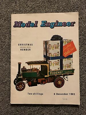 £5 • Buy Model Engineer Magazine December 6 1962 Christmas Double Issue Number