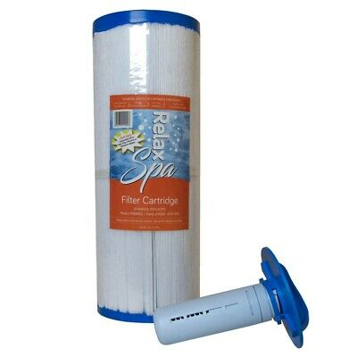 £32.95 • Buy Relax Spa Filter Cartridge With Pod For Tablets - Replacement For Pleatco PWW50L