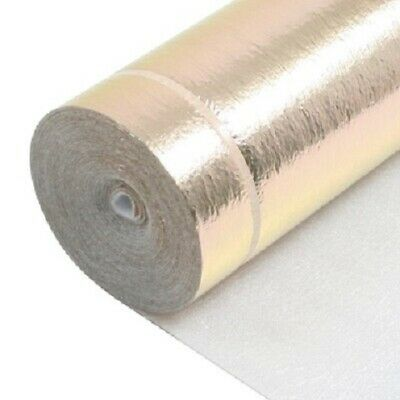 10m2 Deal - 3mm Comfort Gold - Acoustic Underlay For Wood & Laminate Each • 12.99£