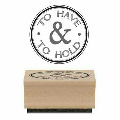 East Of India TO HAVE & TO HOLD Stamp - Crafting - Wedding • 2£